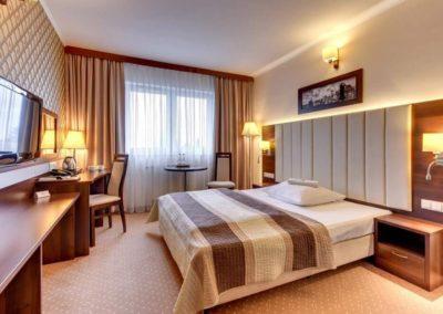 duży pokój hotelowy, amber gdańsk