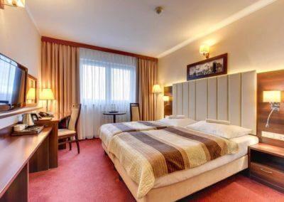 pokój hotelowy Amber w Gdańsku