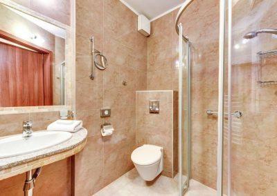 łazienka w hotelu Amber Gdańsk
