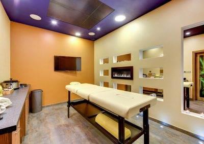 pokój do masażu w hotelu Amber w Gdańsku