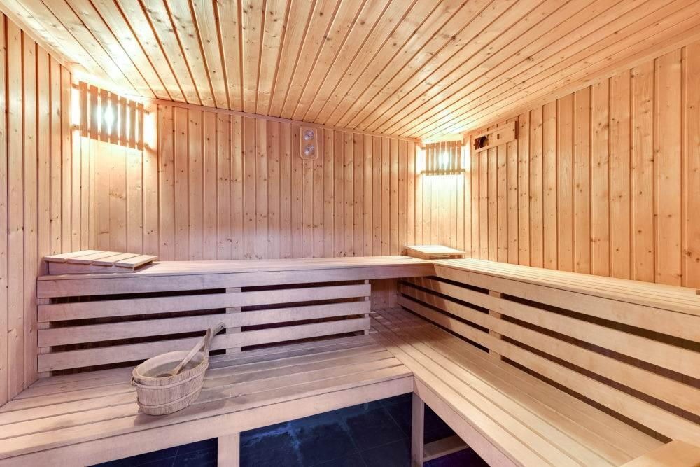 sauna hotelowa, Amber Gdańsk
