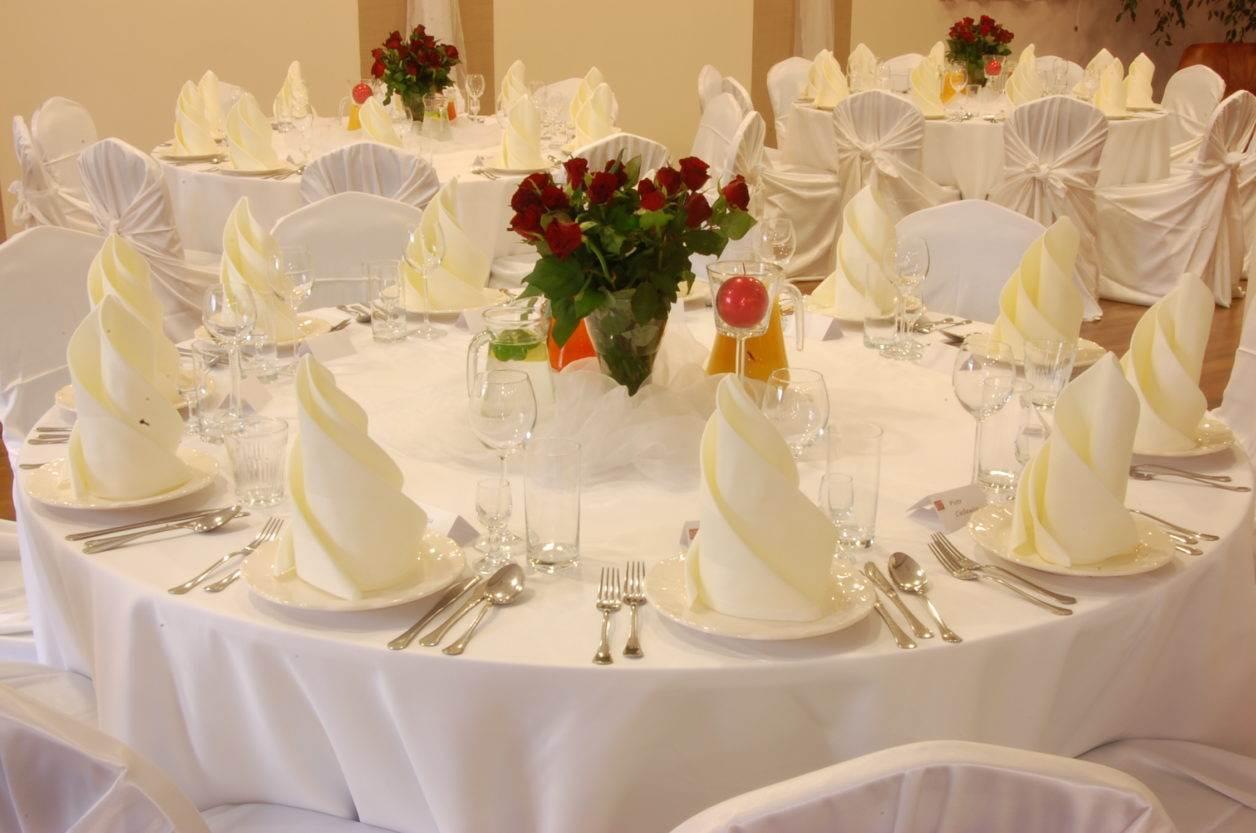 weselny stół w hotelu amber gdańsk