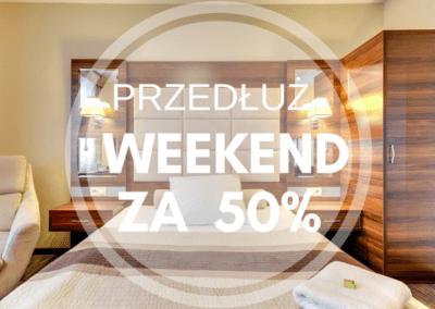 Przedłuż weekend o niedzielę za 50%